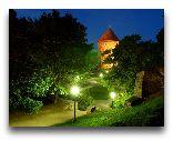 Таллинн: Парк у крепостной стены