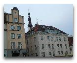 Таллинн: Дома на Ратушной площади