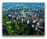 Таллинн: Вид на Таллинн сверху