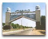 Тараз: арка при въезде в Тараз