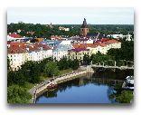 Тарту: Вид на старый город