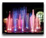 Ташкент: Ночные фонтаны Ташкента