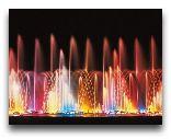 Ташкент: Ночные фонтаны