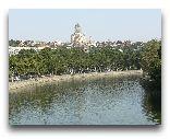 Тбилиси: Река Мтквари (Кура).