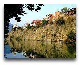 Тбилиси: Дома над Курой