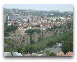 Тбилиси: Вид на город
