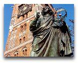 Торунь: Памятник Копернику