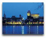 Торунь: Панорама города