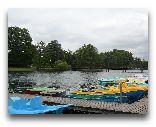 Тракай: Пристань озера