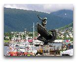 Тромсе: Памятник рыбаку