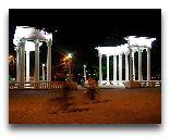 Цхалтубо: Вечером в городе