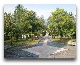 Цхалтубо: Территория санатория