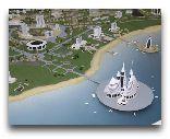 Туркменбаши: проект строительства моского курорта Аваза