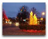 Вентспилс: Новый год в городе
