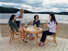 Вильянди: На берегу озера