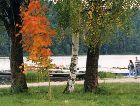 Вильянди: Парк на берегу озера