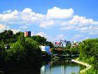 Вильнюс: Река Нерис в Вилюнюсе