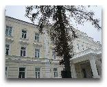 Вильнюс: Презитенсский дворец зимой