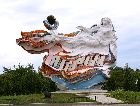 Янтарный: Въезд в Янтарный