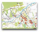 Закопане: Карта