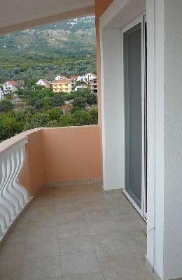 № 1 - двухкомнатный номер: балкон гостинной