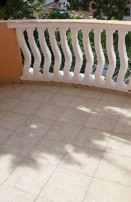 № 7 - одноместный номер с французской кроватью: балкон номера 7