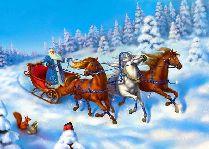 Православное Рождество на берегу Балтийского моря