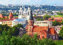 Каникулы в Литве «Вильнюс-Каунас-Тракай»: Вид на Каунас