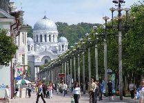 Каникулы в Литве «Вильнюс-Каунас-Тракай»: Лайсвес Аллея в Каунасе