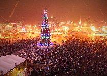 Новый Год в Северной столице Беларуси