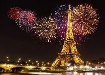 Новый год в Эльблонге в стиле Парижа 2016