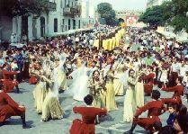 Празднование Новруза в Азербайджане