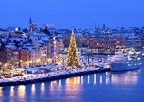 Скандинавские выходные в королевском Стокгольме: Стокгольм зимой